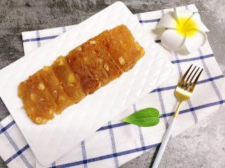 广式茶点——香煎马蹄糕
