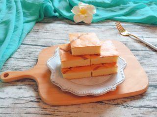 酸奶蛋糕,成品图。