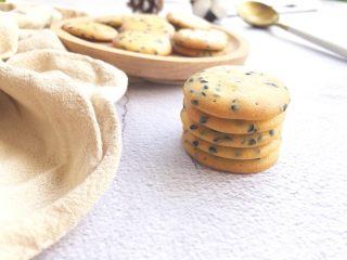 黑芝麻薄脆饼,叠叠高来一张图片
