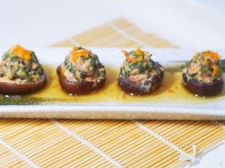 蒸菜篇:电饭锅版香菇盏,装盘