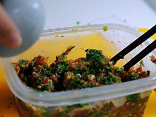 蒸菜篇:电饭锅版香菇盏,蛋清