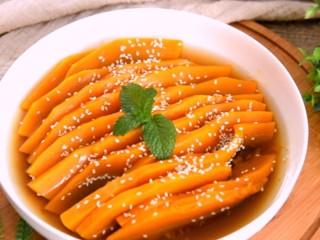 让你一眼就喜欢的——蜜汁南瓜的做法