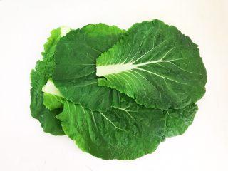 非常独特的东北饭包,把白菜叶晾干水份