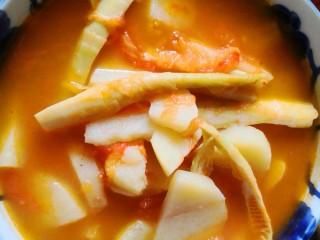 扁尖蕃茄土豆汤