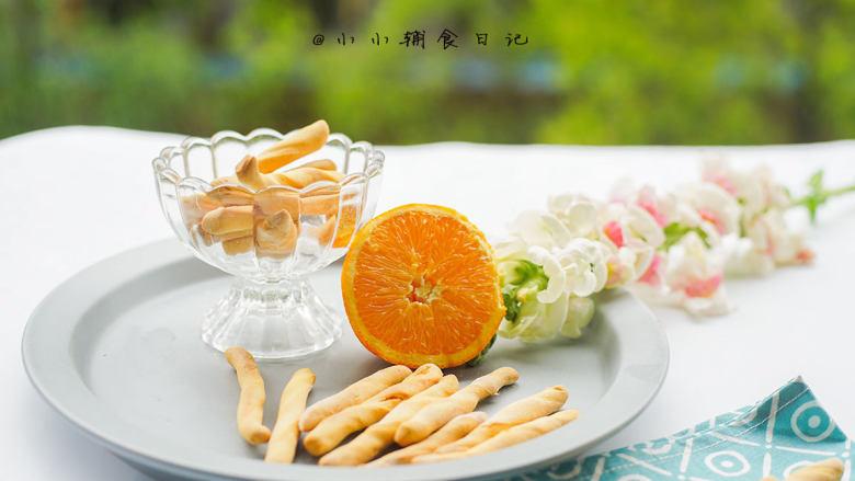 橙香无油无糖磨牙棒,完成