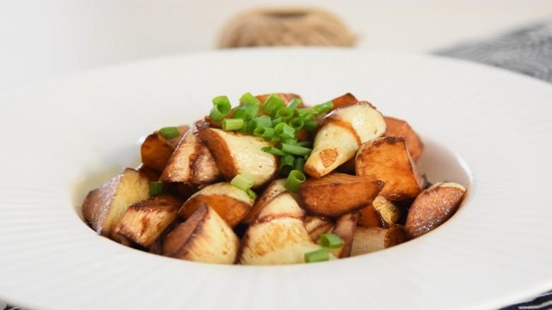 油焖茭白—浓油赤酱的本帮素菜