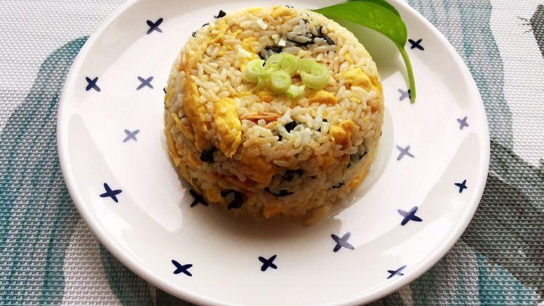 紫菜虾米蛋炒饭
