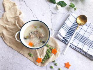 杂蔬排骨大米粥(电饭煲版)