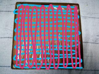 旋风蛋糕卷[红丝绒],就是图中的走向,先画蓝色,再画红色。