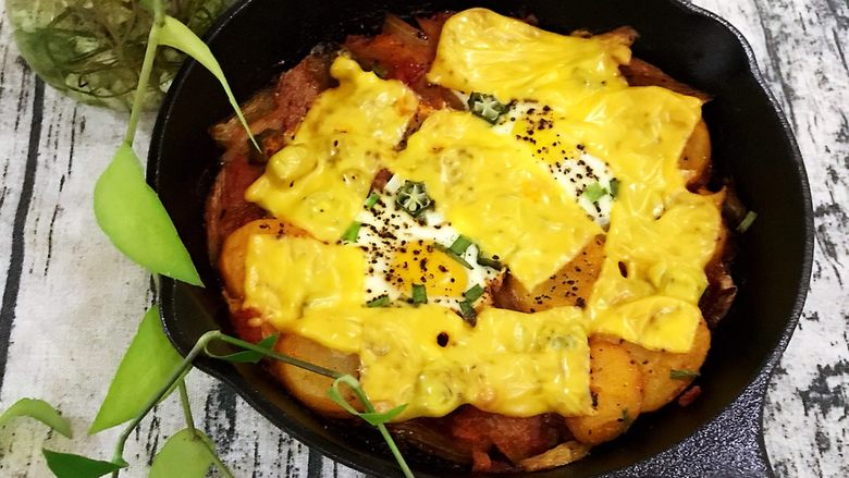 干酪片北非蛋