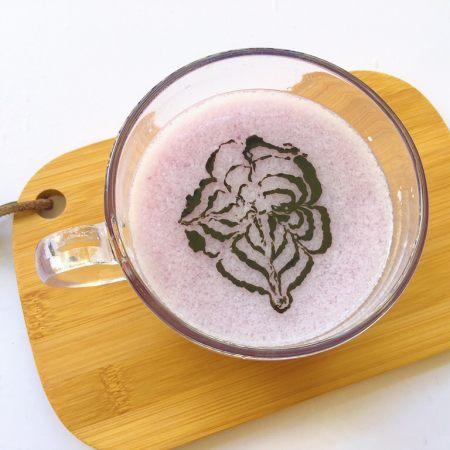 紫薯米粉饮