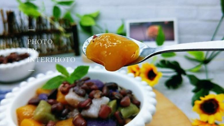 消暑祛湿&红豆彩色芋圆,南瓜芋圆,筋道好吃。