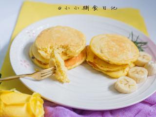 酵母版香蕉松饼,完成