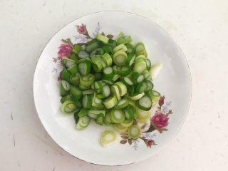 下饭小菜  豆豉什锦虾仁,大葱切成葱花