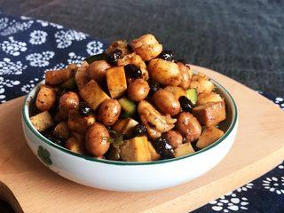下饭小菜  豆豉什锦虾仁,豆豉什锦虾仁出锅了