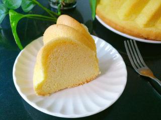 萨瓦林戚风蛋糕,成品图
