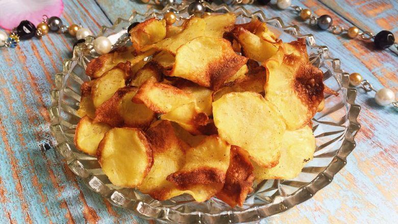又香又脆又健康的自制薯片