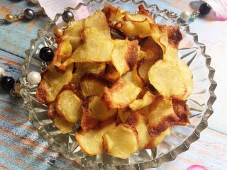 又香又脆又健康的自制薯片,完成