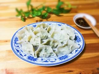 豇豆猪肉水饺,非常好吃