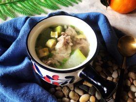 冬瓜笋丁排骨汤