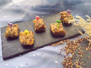 宝宝辅食11M➕藜麦南瓜蒸糕