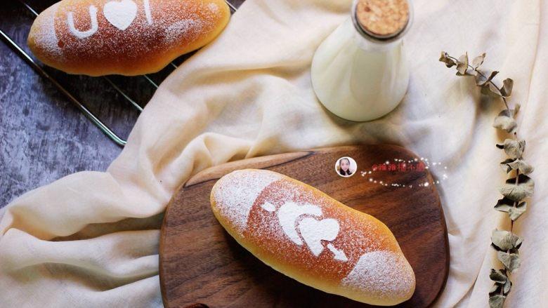 海苔肉松面包,成品图