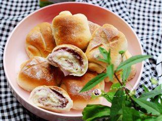 淡奶油芋泥面包卷(烫种)