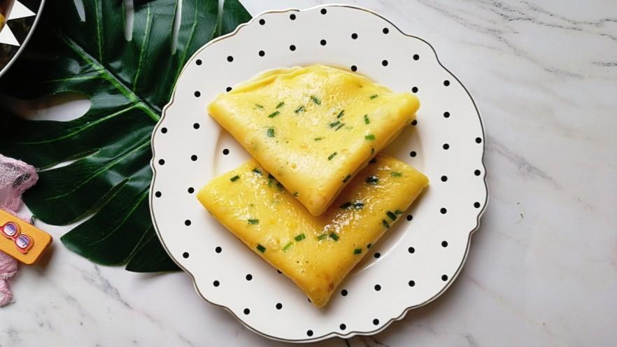 香葱牛奶鸡蛋煎饼