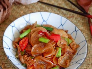 干锅水萝卜,成品
