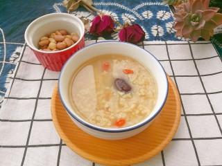 滋阴益气,黄芪石斛红枣粥,起锅