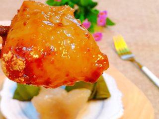 蜜枣西米粽子,蘸点红糖,香甜Q弹,好吃到停不下来!