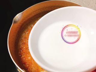 番茄虾仁羹,出锅前加入水淀粉即可。