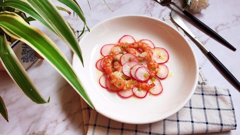 樱桃萝卜&北美对虾