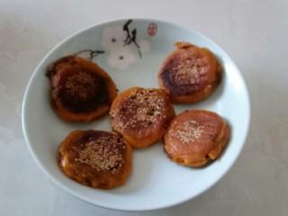 两种口味的糯米南瓜饼