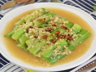 绿色清新的家常小菜—蒜蓉炒丝瓜