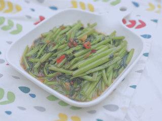 泰式料理的3+1种有爱做法「厨娘物语」,虾酱空心菜就完成啦,开吃吧~
