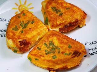 中国式芝士火腿三明治,中式早餐西式的吃法