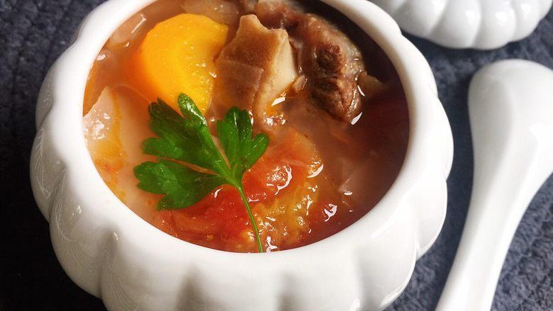 牛尾巴罗宋汤