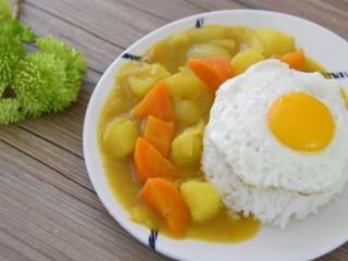 咖喱土豆饭—放着我来,这个我能吃十碗