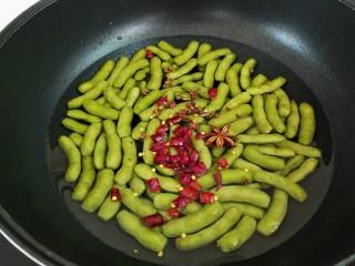 水煮毛豆,八角