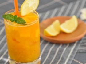芒果绿茶—这样能喝出雪泥的口感,夏天的味道啊
