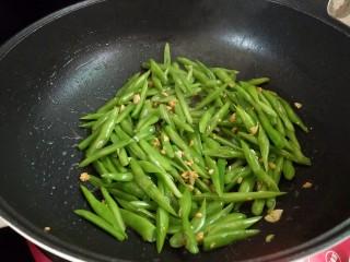 家常四季豆,炒勺
