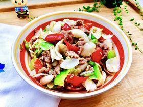 炒牛肉也可以温婉清雅➕白百合小炒牛肉