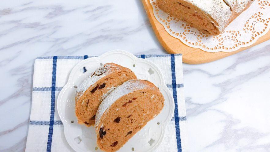 无糖低脂果干全麦面包