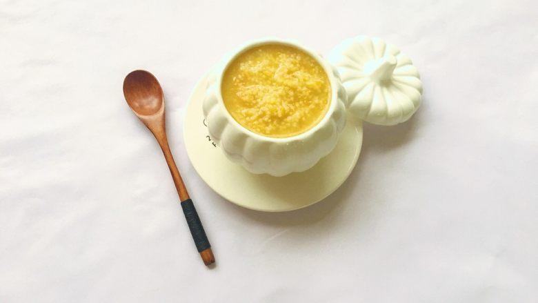 南瓜小米粥,成品