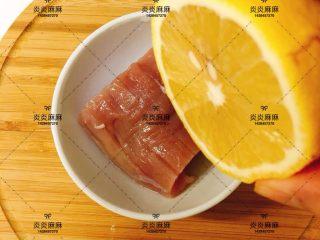 猪肉米饭包   12m+ ,猪肉用柠檬去腥
