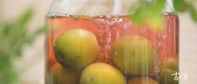【青梅酒】人随时光各自远,蓦然回首,却把青梅酿美酒,待几日冰糖融化后,铺第二层青梅和冰糖,再倒入米酒,重复此步骤两至三次,至所有青梅、冰糖、米酒全部入坛,密封置于不透光处保存一月至一年即可饮用