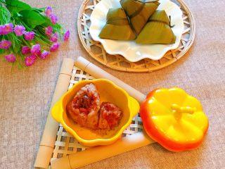 花生蜜枣粽,香甜软糯,好吃到停不下来!