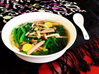 杂蔬火腿羊汤,鲜香浓郁的杂蔬火腿羊汤,不腥不膻,味道美极了~