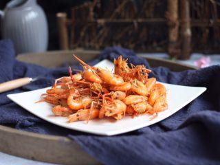 炸小河虾,成品图。